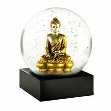 Cool Snow Globes Schneekugel Buddha Gold