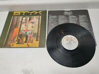 Styx - The Grand Illusion LP Vinyl A&M SP-4637 1977 W/ Poster & Sleeve