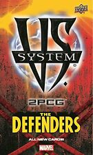 MW| MARVEL VS SYSTEM 2PCG THE DEFENDERS NEW & SEALED | UPPER DECK ENTERTAINMENT