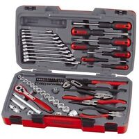 TENG TOOLS NEW! 2018 SALE! 3/8 DRIVE TOOL KIT RATCHET SOCKETS SCREWDRIVERS