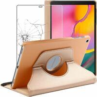 Etui + Film VERRE Trempé Samsung Tablette Galaxy Tab A 10.1 2019 T510 T515