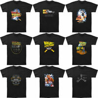 Back To The Future Movie Poster Men's T-shirt Black