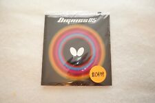 Butterfly Dignics 05 Black 2.1mm table tennis rubber