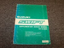 1990 Suzuki Swift Workshop Shop Service Repair Manual Supplement GA GL GLX GS