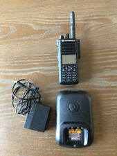 Motorola XPR 7550 Two Way Digital Radio UHF Walkie Talkie with Charger Mint