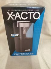 X Acto Powerhouse Electric Pencil Sharpener Black 1799x Office Quiet Motor