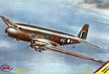 DOUGLAS DC-2 (RAAF/AUSTRALIAN, SPANISH, U.S. NAVY & MARINES MKGS)#72091 1/72 MPM