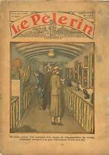 Paris Wagon Train Exposition Artistes Gare Saint-Lazare France 1934 ILLUSTRATION