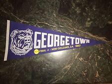 GEORGETOWN 1982 FINAL FOUR PENNANT