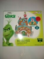 NEW Dr.Seuss The Grinch Gingerbread Who-Ville House Kit Ship N 24 Hrs
