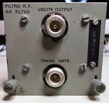 CAVITÀ FILTRO PASSA BANDA UHF DA 450 A 512 MHZ - PERFETTO - Non per Radioamatori