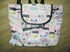 LeSportsac Women's Classic Small Edie Backpack Sweet Talk Pink Candy