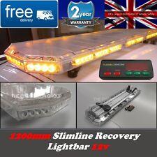 """1.2 M LED ámbar van luz camión Bar recuperación advertencia - 120cm 1200 Mm 48 """"banderillero"""