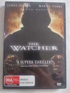 THE WATCHER 2000 DVD Thriller Keanu Reeves Marisa Tomei