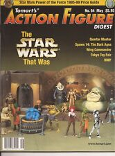 TOMART'S ACTION FIGURE Digest #64 May 1999 Star Wars Spawn Tokyo Toy Fair WWF DC