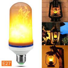 E27 6W LED SMD 2835 1300K Fackel Feuer Lampe Mais Licht Flammen Effekt Glühbirne