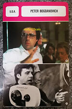 US Director Writer Actor Producer Peter Bogdanovich French Film Trade Card