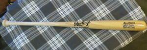 Bob Feller autographed signed Rawlings Big Stick Professional model bat