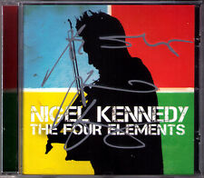 Nigel KENNEDY Signiert THE FOUR ELEMENTS Air Earth Fire Water CD Gachette Damon