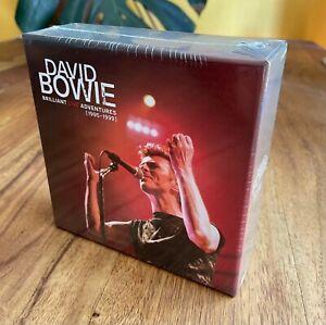 DAVID BOWIE CD Box Slipcase BRILLIANT LIVE ADVENTURES