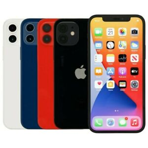 Apple iPhone 12 64GB Black Blue Green Red White T-Mobile Locked Fair Condition