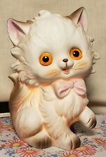Vintage Kitty Cat Night Light Lamp Josef Originals