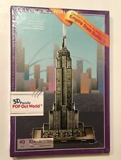 AMERICA'S FAVORITE ARCHITECTURE EMPIRE STATE BUILDING 3D PUZZLE 40 PIECES