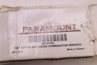 """Paramount Offset Combination Wrench Chrome 1/2"""" 12 Point 7-5/64"""" OAL 68131754"""