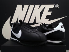 DS 2018 Nike Cortez Basic ID UK10.5 EU45.5 Negro Cuero II OG Compton Gump Raro
