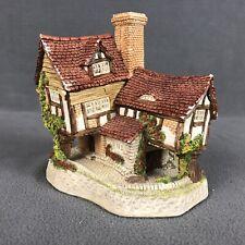 David Winter Cottages Tom Fool'S Cottage Vintage 1991 Made In England