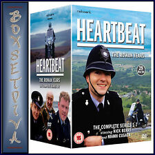 HEARTBEAT - THE COMPLETE SERIES 1 2 3 4 5 6 & 7- ROWAN  YEARS **BRAND NEW DVD **