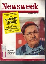 Newsweek: H-Bomb Issue October 29, 1956