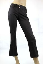 NEW Authentic Gucci Womens Stripe Capri Pants, 40, 169681