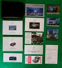 2000 00 Mercedes Benz M Class  Owners Manual Near New L13A