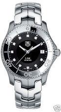 Excellent GIFT IDEA Tag Heuer Mens Watch WJ1113.BA0575 Link Diamond Quartz Watch