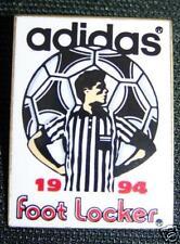 ADIDAS 1994 FOOT LOCKER ADVERTISING HAT PIN BADGE New