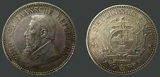 South Africa 1894 2 1/2 Shilling, Rare Key Date, Nice XF Plus, Sharp Detail
