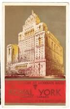 1942 postcard- Royal York Hotel, Toronto, Canada