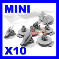 MINI WHEEL ARCH TRIM CLIPS ONE S D SD COOPER COUPE ROADSTER R55 R57 R58 R59