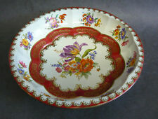 Vintage Daher Tin Bowl Plate Tray England Mid Century