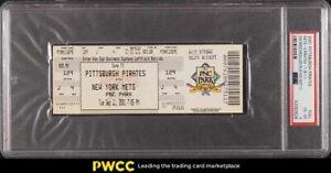 2001 Pittsburgh Pirates vs. New York Mets Full Ticket #FULL PSA 4 VGEX