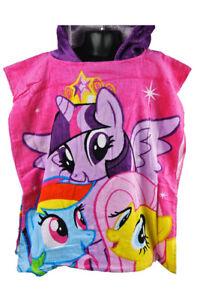 Hooded Bath Beach Towel Poncho My Little Pony For Kids & Childrens Girls