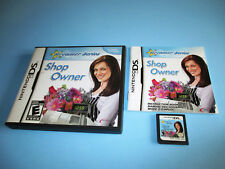 Dreamer Series: Shop Owner Nintendo DS Lite DSi XL 3DS 2DS Game w/Case & Manual