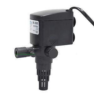 Aquarium Multifunktionspumpe 600L/h, 8W, Pumpe f 5W UV Wasserklärer (AA-CUV-305)
