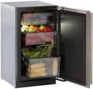 "U-Line Modular 3000 Series 18"" Panel Ready All Refrigerator U3018RFOL00"