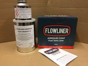 Flowliner Armour Coat Petrol Tank Repair Internal Coating/Sealer ethanol  proof