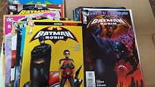 Batman robin Comic Lot 1999 1-26 new 52 0 1-12 vf+ bagged