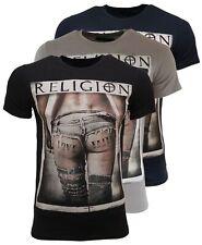 RELIGION Clothing Herren T-Shirt LOVE FAITH BUM Tee Shirt - NEU