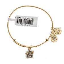 Alex & Ani Kings Crown brazalete de oro A09EB133RG-PVP £ 33