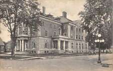 Mount Pleasant Iowa YMCA Building Street View Antique Postcard K93874